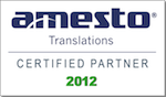 Amesto Certified Partner 2012